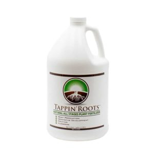 One gallon bottle of Tappin' Roots All Stages